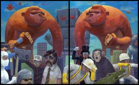 """Funky """"Brass"""" Monkey"""